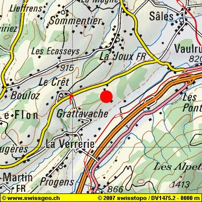 Région de Le Crêt